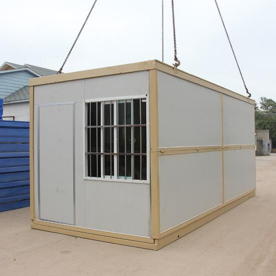 folded container house